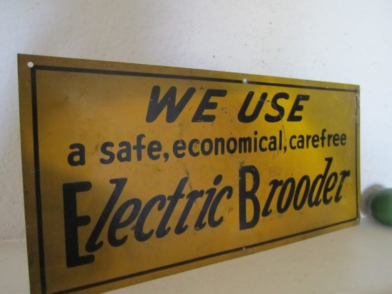 Electrical Industrial Sign