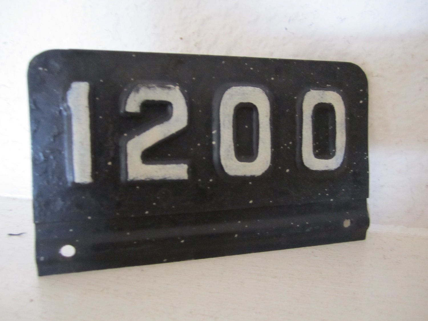 Industrial Number 1200 Metal P...