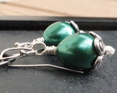 Slytherin Blossom Earrings