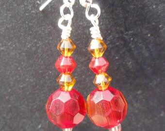 Gryffindor Earrings