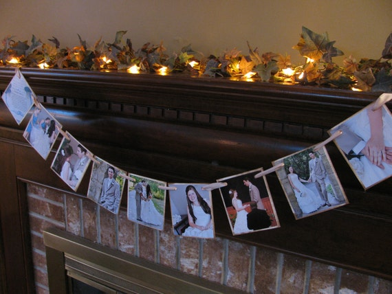 Unavailable listing on etsy for 10th wedding anniversary decoration ideas