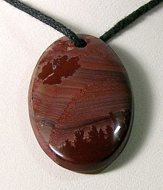 Apache Sage or Mimbres Valley Rhyolite Focal Bead