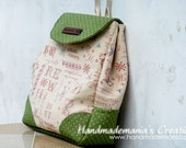 Reserved, Cross Stitch Backpack