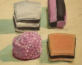 Licorice Allsorts - oil painting