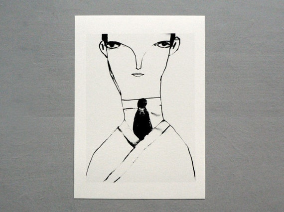 "ART ///// Print ""Kafka"""
