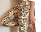 Tribal Art Leggings-- LAST PAIR --medium