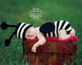 Buzzy Bumble Baby Set Pattern - 5 Sizes - PDF Sale