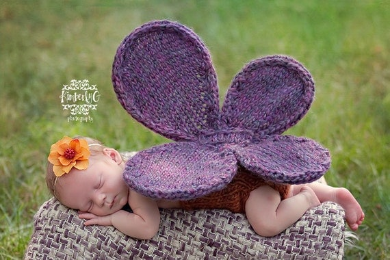 Butterfly Babe Knitting Pattern - 4 Sizes - PDF Sale - Instant Digital Download