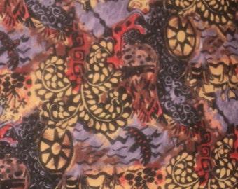 "Pillow Covers 16"" Set of 2.   Purple Elephant Art Abstract. Boho. Hippie. Kitsch."