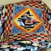 Lap Quilt Muscle Cars. Hot Rods. Travel lap quilt.  Lap blanket. Gifts for him.  Birthday gift for boys.  Man cave.