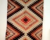 Vintage eye dazzler Navajo rug