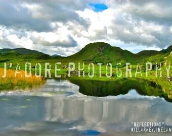 8x10/8x12 Photograph—'Reflections' (Killarney, Ireland)