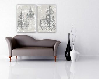 Amanda Merkle CUSTOM Chandelier Art Chic Design