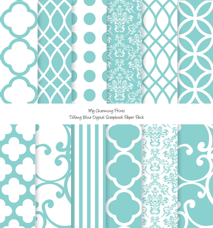 tiffany blue design wallpaper - photo #36