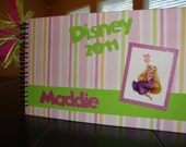 Personalized Disney Autograph Book- Tangled/Rapunzel