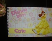 Personalized Disney Autograph Book- Belle