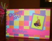 Personalized Disney Autograph Book- Tangled/Rapunzel