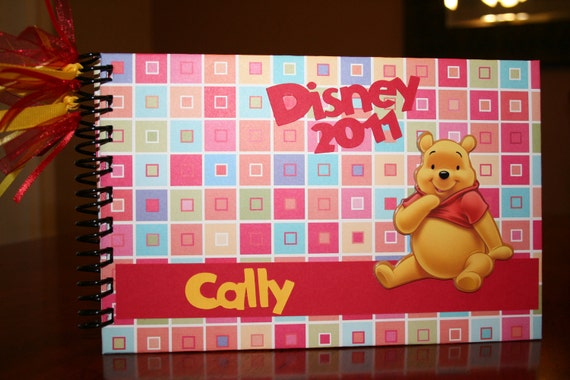 Personalized Disney Autograph Book- Winnie the Pooh