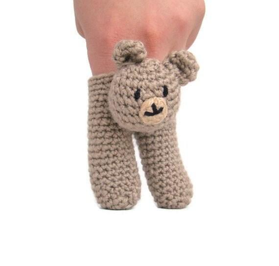 Two Finger Bear Puppet