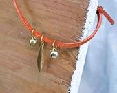Jingle Wish Bracelet - Rust