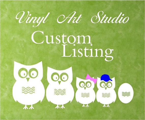 Custom Listing for lindsey021 ONLY
