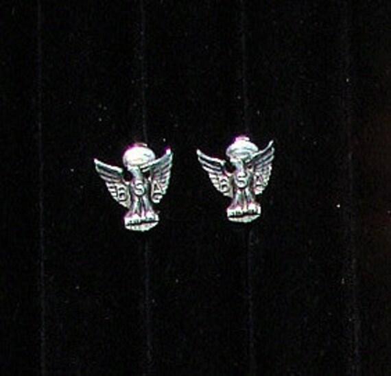 BSA Motorcycle Earrings Vintage Clip On Earrings