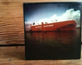 "Wallenius Willhelmsen Photo Block 4"" X 4"""