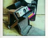 "Polaroid SX70 Camera Alpha ""Sears Special"" & EverReady Case - GUARANTEED WORKING"