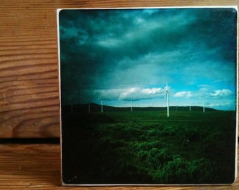 """Windmills Photo Block 4"""" X 4"""""""