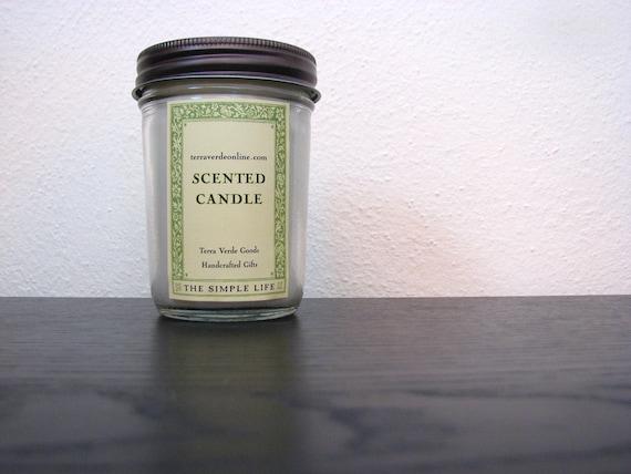 Sweet Cucumber Jar Candle