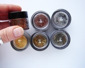 6 Brand New Heavy Metal Pearl ex Powdered Pigments HC077