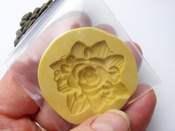 Brand New Handmade Flower bouquet 1 silicone mold HC214 by Marie Segal