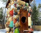 All American Outdoor Birdhouse Outhouse