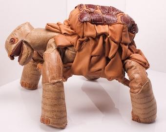 Plush Designer Turtle | Methuselah Leather Tortoise