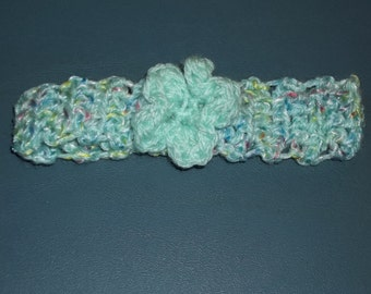 Crocheted 0 to 3 Month Headband