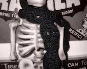 PDF CROCHET PATTERN Cute Crochet Skull Scarf