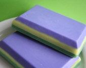 Mardi Gras// Glycerine Soap // Vegan