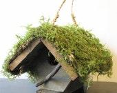 Rustic Wren, Birdhouse, Rustic Birdhouse,  Repurposed Wood, Repurposed Hardware, Eco-friendly