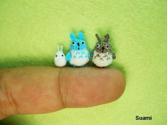 指先より小さい!?「Su Ami」の編みぐるみが超ミクロサイズで驚き!!