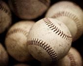 Sports Decor, Baseball Photo, Baseball Picture, Baseballs, Sports Wall Art, Sports Pictures, Man Cave, Gameroom, Art for Men.