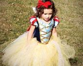 Snow White Tutu Dress w/ Deluxe Cape