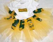 GreenBay Packers Tutu Dress