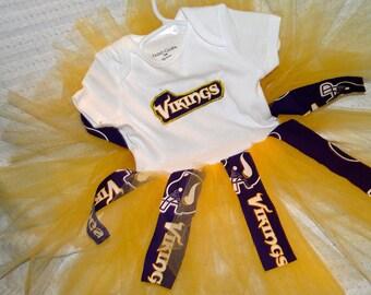 Minnesota Vikings Tutu Dress