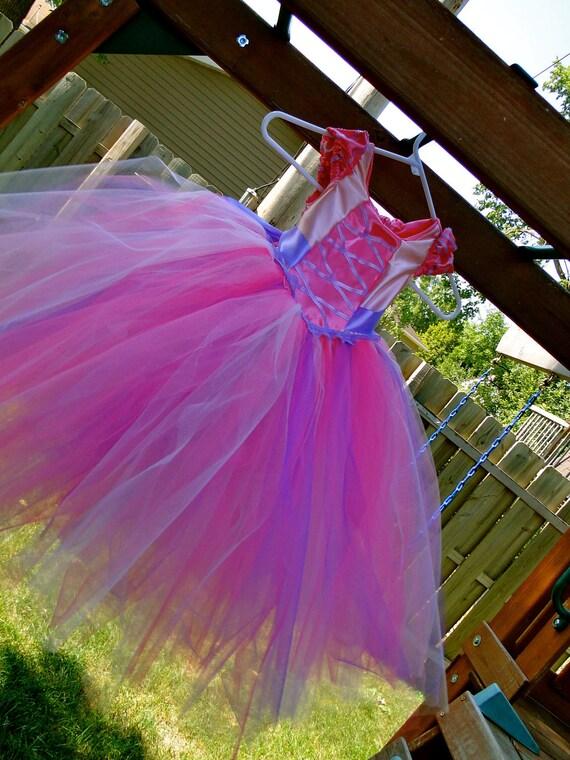 """Princess """"Rapunzel"""" Tutu Dress - Pink"""