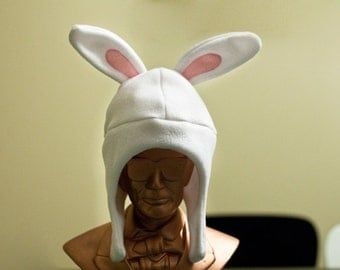 White Rabbit Baby/Toddler Fleece Hat
