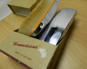 Antique Gents Connoisseur English Hair & Cloth Brush Set