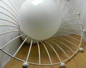 RESERVED LISTING Mid Century Eames Era Atomic Light Fixture Ceiling Lamp