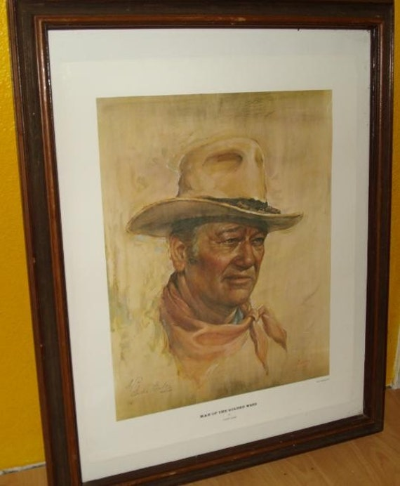 Reserved Vintage Man of the Golden West by Endre Szabo Artist Proof