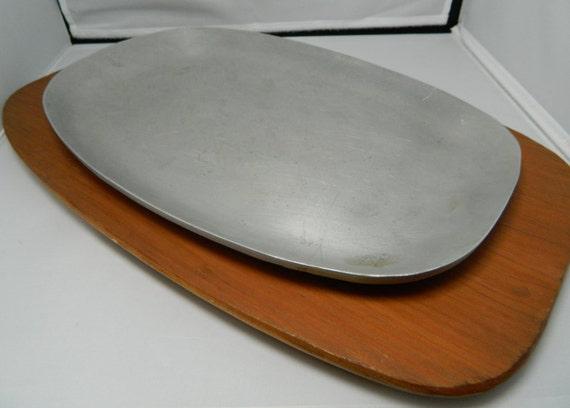 Danish Modern Serving Platter 2 Pieces