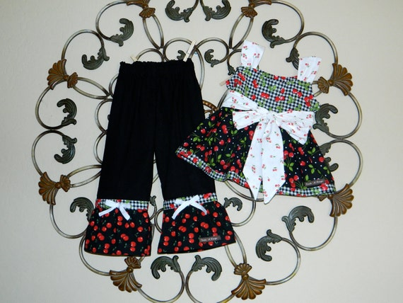 Last One 3T  Outfit - Cherry Pie Please Outfit